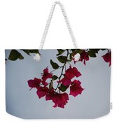 Flowers In The Sky Weekender Tote Bag