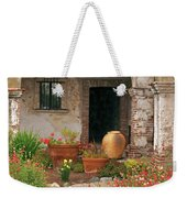 Flowers In The South Wing, Mission San Juan Capistrano, California Weekender Tote Bag