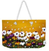Flowers In The Sunset  Weekender Tote Bag