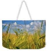 Flowers In The Wheat Weekender Tote Bag