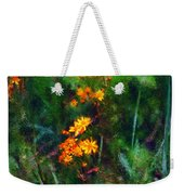 Flowers In The Woods At The Haciendia Weekender Tote Bag