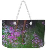 Flowers In The Woods Weekender Tote Bag