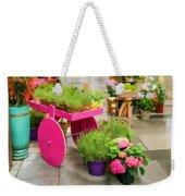 Flowers In Vienna Weekender Tote Bag