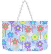 Flowers Weekender Tote Bag by Louisa Knight