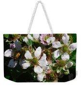 Flowers Of Berries Weekender Tote Bag