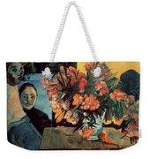 Flowers Of France Weekender Tote Bag