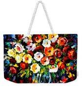 Flowers Of Love Weekender Tote Bag