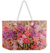 Flowers Of Romance Weekender Tote Bag