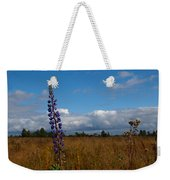 Flowers Of Leaving Summer Weekender Tote Bag