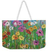 Flowers Of Summer Weekender Tote Bag