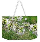 Flowers Of The Blackthorn Shrub Weekender Tote Bag