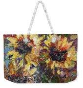 Flowers Of The Gods Weekender Tote Bag