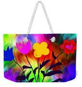 Flowers Of The I-magi-nation Weekender Tote Bag