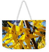 Flowers Of The Sky Weekender Tote Bag