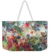 Flowers On Canvas Weekender Tote Bag