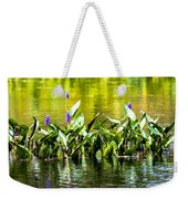 Flowers On The Connecticut Weekender Tote Bag