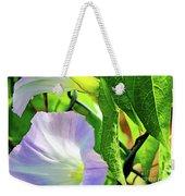 Flowers On The Fence Weekender Tote Bag