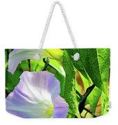 Flowers On The Fence Weekender Tote Bag