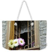 Flowers On The Sill Weekender Tote Bag