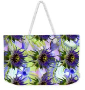 Flowers On The Wall Weekender Tote Bag by Betsy Knapp