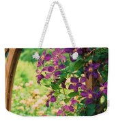 Flowers On Vine  Weekender Tote Bag