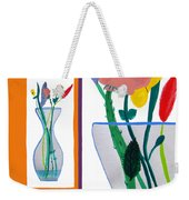 Flowers Small And Big Weekender Tote Bag