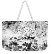 Flowers Study Abstract 1 Weekender Tote Bag