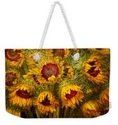 Flowers - Sunflowers - You're My Only Sunshine Weekender Tote Bag