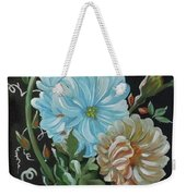 Flowers Surreal Weekender Tote Bag
