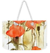 Flowers Wet Weekender Tote Bag