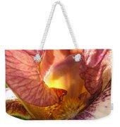 Flowerscape Pink Iris One Weekender Tote Bag