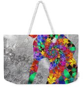 Flowerwoman Weekender Tote Bag