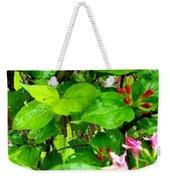 Flowery Flope Weekender Tote Bag