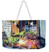 Flowery Window Of France Weekender Tote Bag