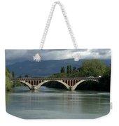 Flowing Bridge Weekender Tote Bag