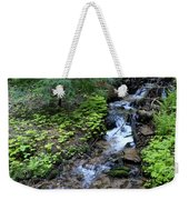 Flowing Creek Weekender Tote Bag