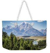 Flowing In The Forest Weekender Tote Bag