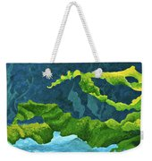 Flowing Kelp Weekender Tote Bag