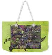 Flowing Leaves And Berries Weekender Tote Bag