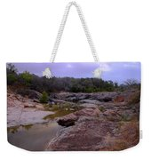 Flowing Through Time Weekender Tote Bag