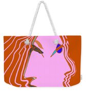 Flows Weekender Tote Bag