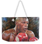 Floyd Mayweather Jr Weekender Tote Bag by Ylli Haruni