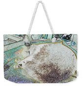 Fluf And Mouse Weekender Tote Bag