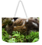 Fluffy As A Duck Weekender Tote Bag