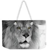 Fluffy Tango  Black And White  T O C Weekender Tote Bag