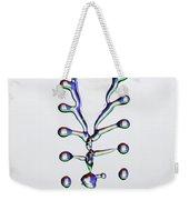 Fluid Fishbone Effect Weekender Tote Bag