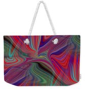 Fluid Motion 6 Weekender Tote Bag