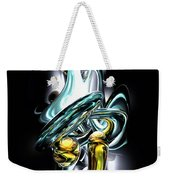 Fluidity Abstract Weekender Tote Bag