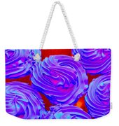 Fluorescent Cupcakes 1 Weekender Tote Bag