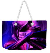 Fluorescent Passions Abstract Weekender Tote Bag